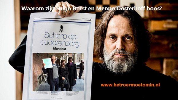 Hugo Borst En Psychiater Menno Oosterhof Zijn Boos. Wie Niet? #gastblog #hetroermoetom