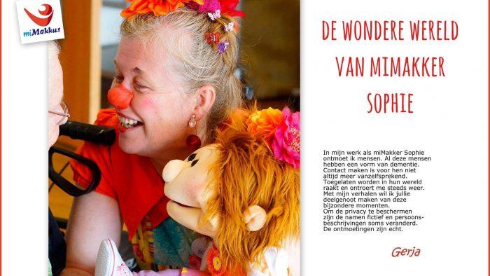 """De Wondere Wereld Van MiMakker Sophie: """"Zoiets Voel Je Hoor!"""" #dementie"""