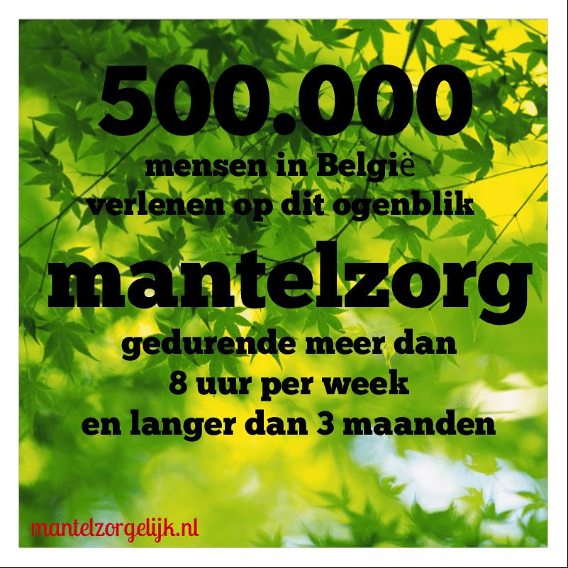 150.000 Voltijdbanen… Mantelzorg In België