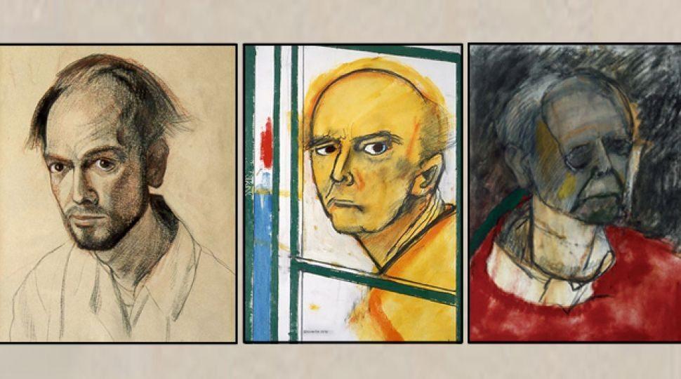 man-met-alzheimer-zelfportretten1