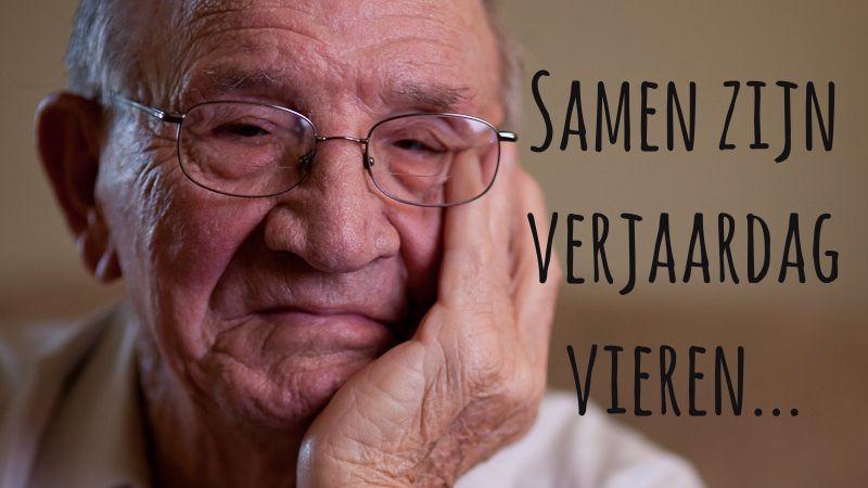 Samen Zijn Verjaardag Vieren #dementie #caregiver