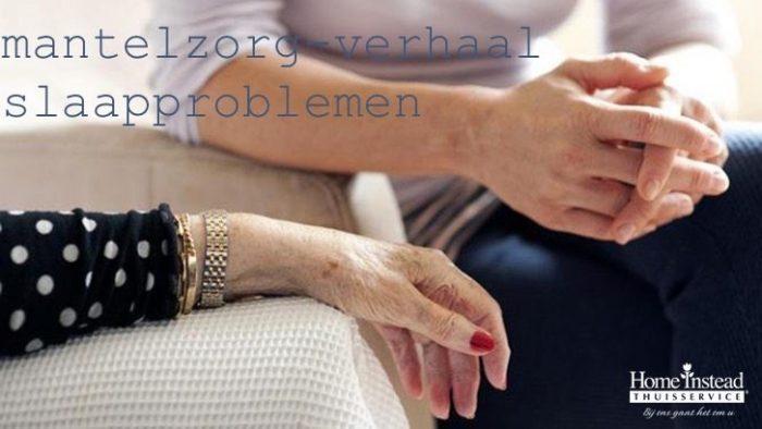 Slaapproblemen #HomeInstead #dementie #mantelzorg