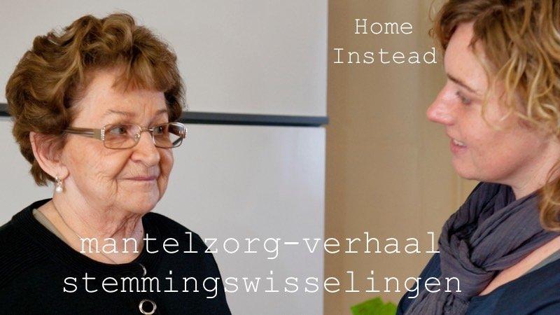 Stemmingswisselingen #HomeInstead #mantelzorg #dementie