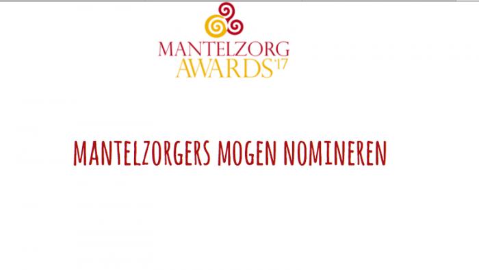 Mantelzorg Awards: Je Kunt Stemmen Tot 8 Oktober A.s.