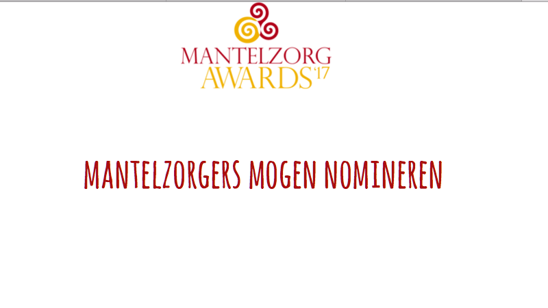 Mantelzorg Awards UA