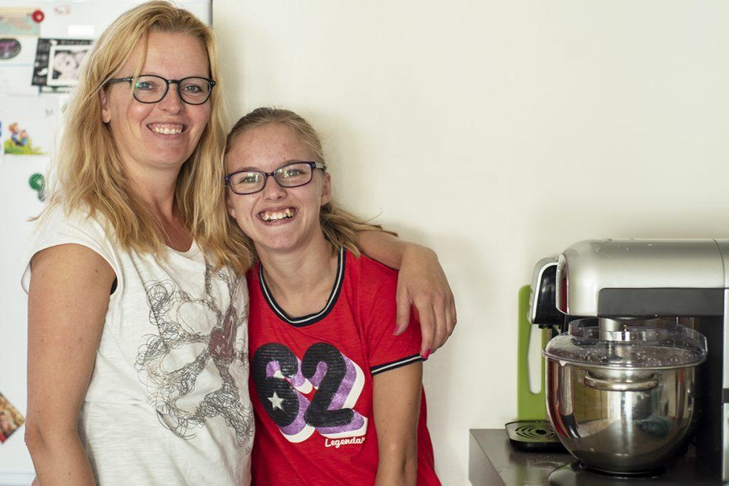 Wendy en Femke © foto: Claudia Otten