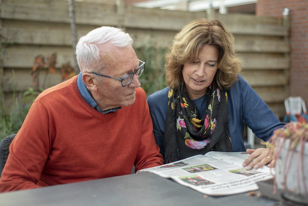 Ellen leest met Piet foto © Claudia Otten