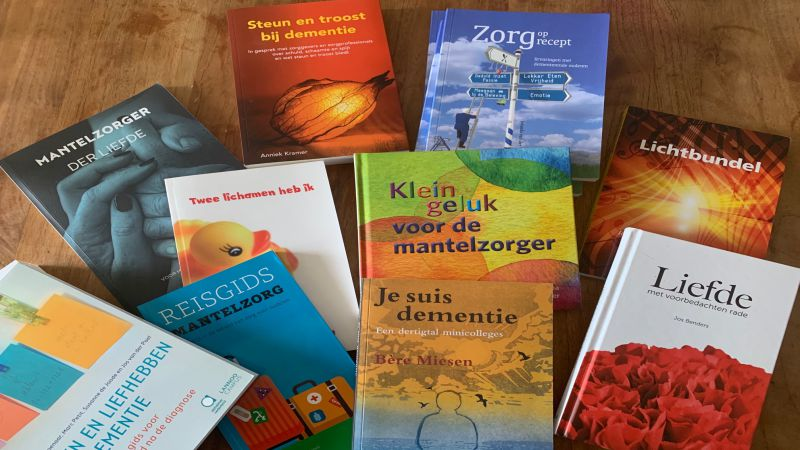 Boekverloting: Klein Geluk Voor De Mantelzorger. Loot Je Mee?